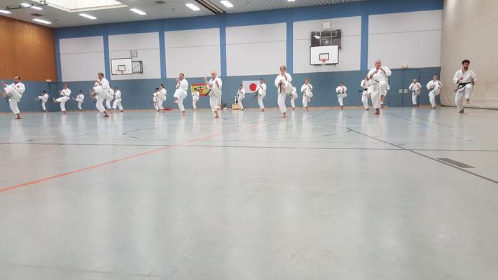 Karate am Kalkuhl